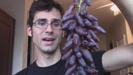 美国研发葡萄新品种, 一串能结3斤, 营养价值是普通葡萄的10倍多