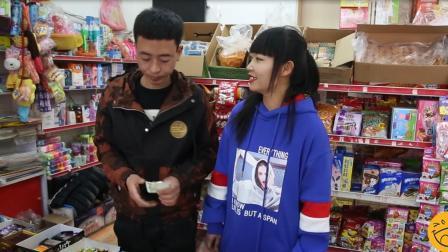 美女带憨弟逛超市忘带钱, 遇到好心人帮忙结账, 结局被感动了