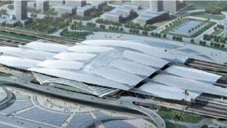 世界上最大的火车站将在中国建成, 相当于30个天安门广场, 总投资达到了130亿元!