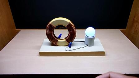 制作简易磁铁线圈发电机, 灯泡能点亮, 什么原理?