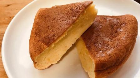 家里没烤箱没关系! 用电饭锅做蛋糕, 做法超简单, 松软0失败