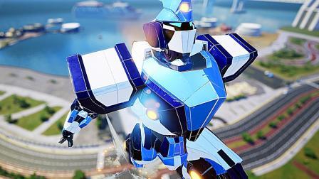 【屌德斯&小熙】 巨型机器人乱斗 莫名有一种钢铁奥特曼的既视感