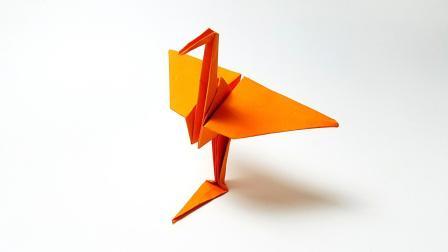 折纸王子折纸丹顶鹤