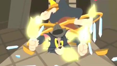 猫和老鼠: 主人出去了, 汤姆和小杰瑞变身侦探帮帮小老鼠查案, 有点意思的~