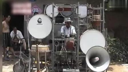 民间牛人: 自制乐器组合, 同时演奏24种乐器, 河北民间第一人