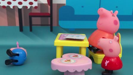 小猪佩奇故事之猪妈妈工作