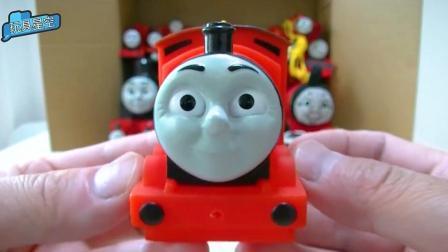 宝宝益智甲壳虫小火车登场 托马斯玩具表情丰富