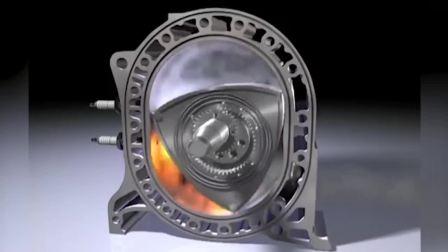 马自达转子发动机为什么那么強悍? 头一次见到里面的工作原理!