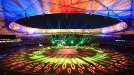 鸟巢(国家体育场)灯光秀