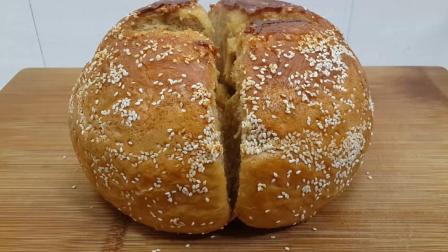 面粉最好吃的做法, 不用烤箱, 不用黄油, 教你做出香甜的拉丝面包