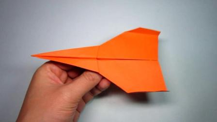 手工折纸教程, 2分钟轻轻松松折出纸飞机, 飞得远好好玩