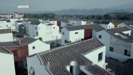映入眼帘的白色小楼,每一户都有三个庭院,是东梓关村的回迁楼