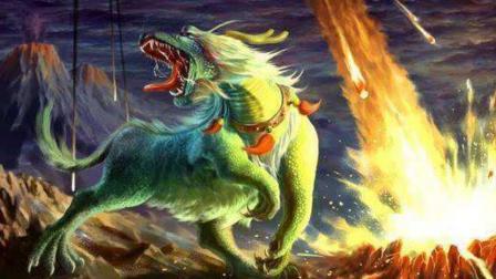 """此神兽乃""""龙族克星"""", 更是上古四神之一, 却曾挑起远古神兽大战"""