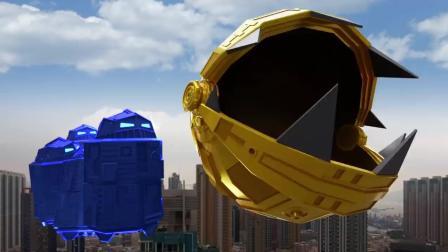 现实生活中的吃豆人巨型机器人