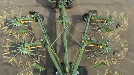 现代农业机械工作过程, 看着真舒服!