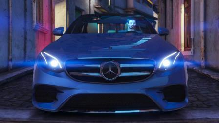 比利《GTA5 MODS》15 梅赛德斯-奔驰E400 4MATIC【中】