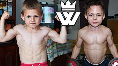 地表最强小男孩? 肌肉比你还壮, 4个不寻常的孩子