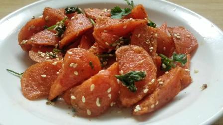 炸火腿肠的做法, 简单几步教你做出美味家常菜!