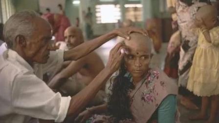 印度寺庙靠贩卖少女头发赚钱, 年收入超20亿, 网
