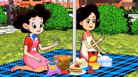 棉花糖和云朵妈妈:棉花糖没食欲云朵妈妈担心,围裙妈妈有妙计!