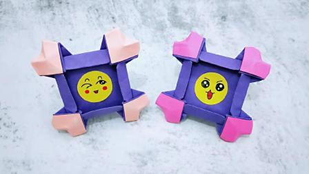自制表情包爱心相框, 简单好做易上手, 孩子们最爱的手工DIY