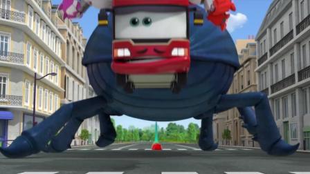 《超级飞侠5》糟糕, 雨果想吃掉公交车吗