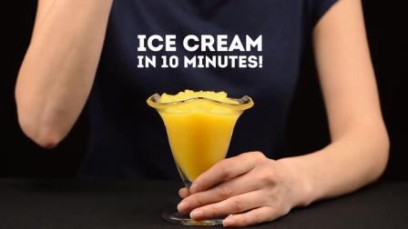 如何将橙汁快速变成沙冰,过一个愉快的冬天(冷啊喂!!)