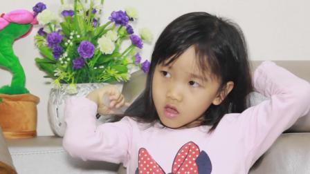 爆笑父女: 女儿担心考试不及格了, 就因为老师给她换了同桌?