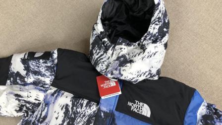 【TY潮鞋够】 Supreme x The North Face sup雪山羽绒服对比评测, 最潮的联名羽绒服
