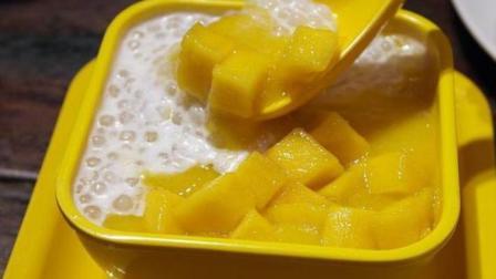 冰激凌不要再买着吃了, 自制好吃的芒果酸奶冻, 做法超级简单!