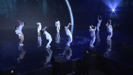 白衣军团炫酷来袭,开场舞《敢》引爆全场 中国嘻哈颁奖典礼 20181208