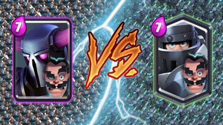部落皇室战争: 皮卡超人闪电法师 vs 超级骑士闪电法师