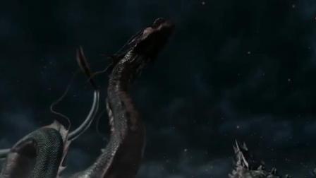 爆燃! 这个画面看10次都不腻! 巨蛇吞下龙珠化身神龙喷射神炎将对手化为灰烬