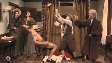 【猴姆独家】笑翻!海王Jason Momoa变性感脱衣精灵!恶搞狄更斯《圣诞颂歌》大首播!
