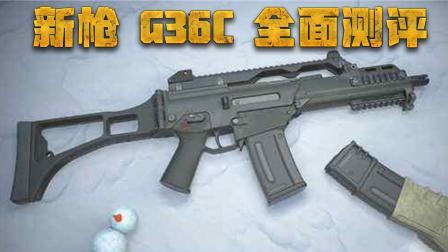武器篇7: 新枪G36C! 激光武器大杀器! 详解新枪正确的使用方式!
