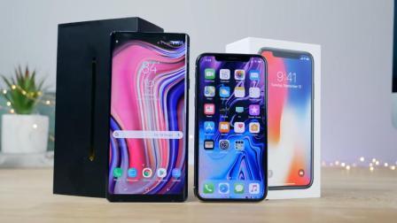 巅峰对决, 三星note9速度对比iPhoneX, 究竟谁才是真正的旗舰机皇?