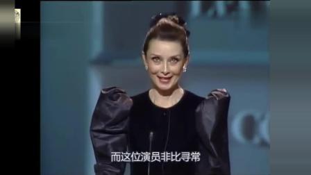 奥黛丽赫本52岁时的一段演讲, 告诉你什么是优雅, 女神始终是女神