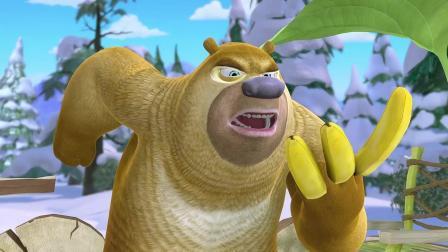出租车司机不好当啊, 熊二辛苦的跑了半天, 才得到3根香蕉
