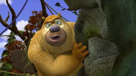 聪明的小猴子, 发明了千里传音, 抢了熊二的生意