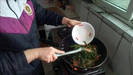 炒胡萝卜的做法 家常