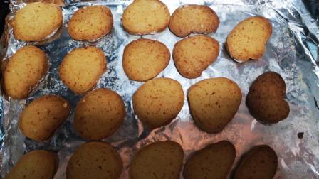 黄油小饼干在家最简单的制作方法! 健康美味口感酥脆, 操作简单