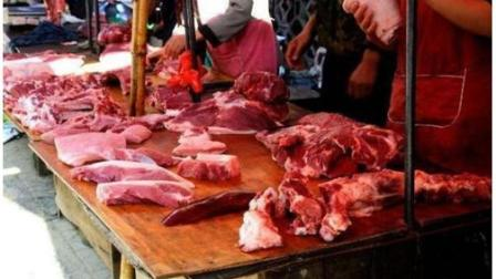 """为什么肉贩子要常常拿一块布在猪肉上擦一擦? 内行人说出""""套路""""!"""