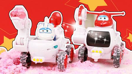 超级飞侠米莉乐迪月球车探索神秘月球生物 超级飞侠玩具大全