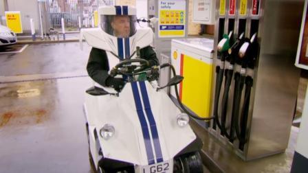 大叔造单座微型汽车, 据说把它穿在身上就能跑, 最高时速50公里