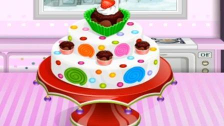 小纸杯蛋糕店益智游戏