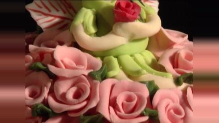 极具艺术的蛋糕, 带你认识翻糖蛋糕~