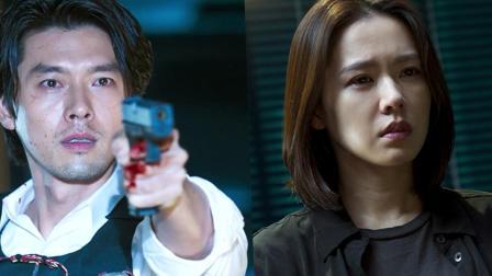 韩国犯罪电影都这么黑暗? 几分钟看完孙艺珍玄彬主演的电影《谈判》