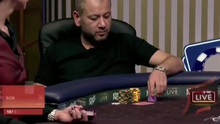 德州扑克Peter遭小盲位跟注, Rob开始意识流, 什么操作