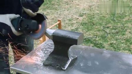 牛人捡来一截废铁块, 加工打磨后, 成品太让人意