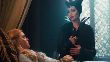 精灵女王无奈黑化, 给公主下魔咒, 最后留下了悲伤的眼泪